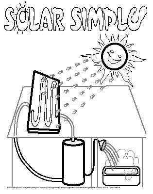 Solar Energy Coloring Pages Pictures To Pin On Pinterest Energy Coloring Pages