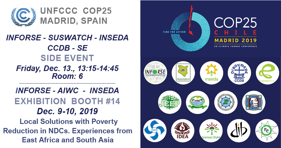 UNFCCC COP 25 side event INFORSE Dec 13 2019