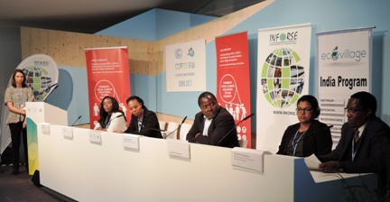 UNFCCC COP23 Side event Nov 9 2017