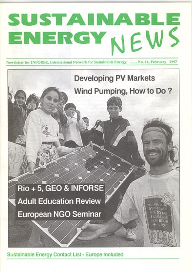 front page of SEN 16