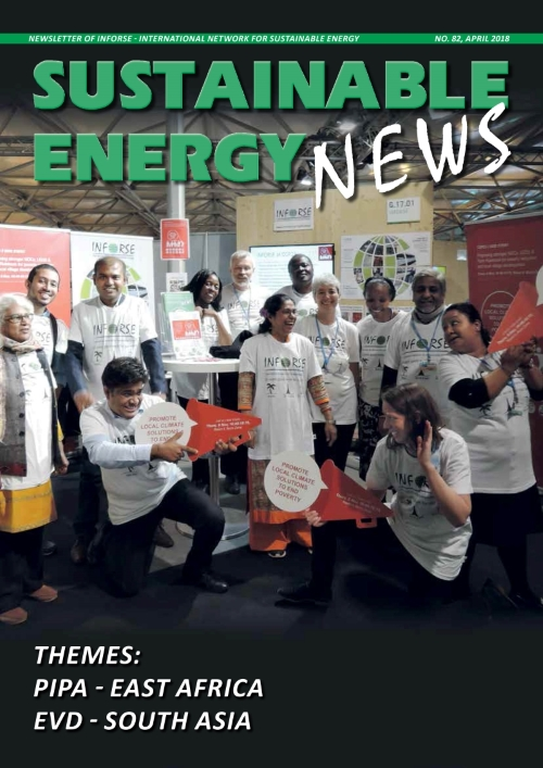 Sustainable Energy News No. 82 April 2018