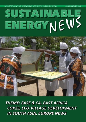SEN 83 Sustainable Energy News Dec 2019 frontpage